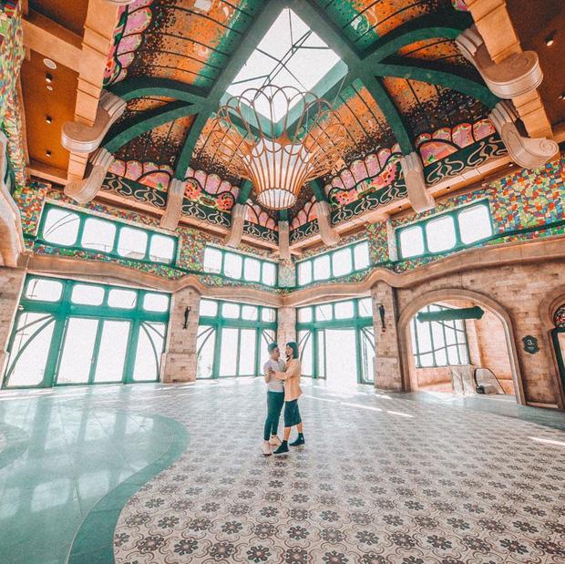Nhà ga cáp treo đạt kỷ lục Guinness thế giới của Việt Nam: Bên trong đẹp tựa châu Âu thu nhỏ, xem ảnh sống ảo chỉ biết ngỡ ngàng - Ảnh 21.