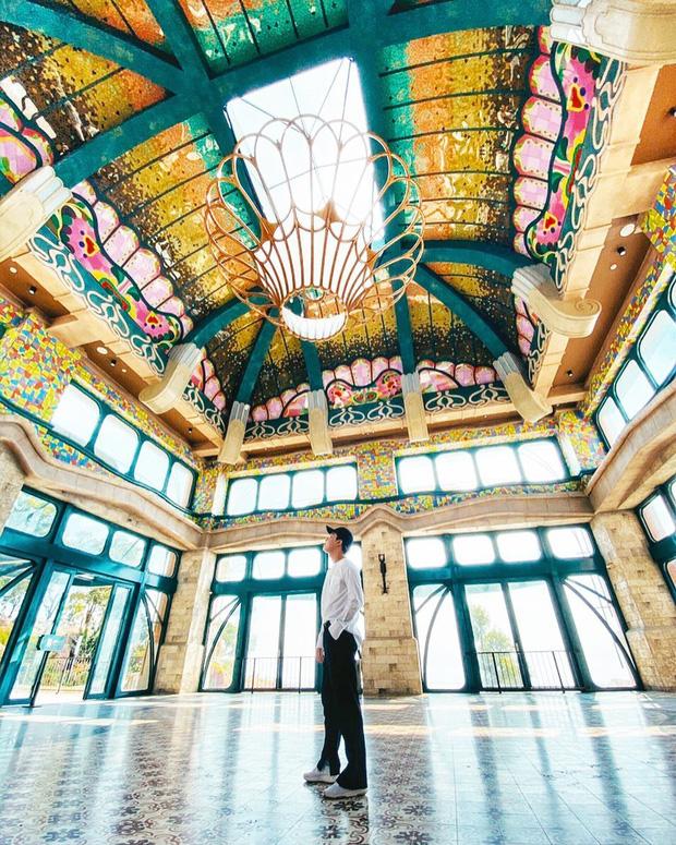 Nhà ga cáp treo đạt kỷ lục Guinness thế giới của Việt Nam: Bên trong đẹp tựa châu Âu thu nhỏ, xem ảnh sống ảo chỉ biết ngỡ ngàng - Ảnh 30.