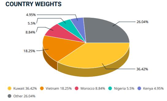 Tỷ trọng cổ phiếu Việt Nam trong rổ MSCI Frontier tăng mạnh sau kỳ cơ cấu tháng 5 - Ảnh 1.