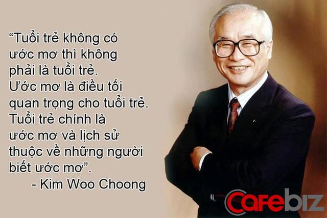 Ra trường đi làm 1 tháng đã thăng chức, được xem là thiên tài, người trẻ muốn sự nghiệp phất như diều hãy học cách của cố chủ tịch tập đoàn Daewoo - Ảnh 1.