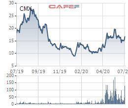 Camimex Group (CMX) thông qua phương án phát hành cổ phiếu thưởng tỷ lệ 10% - Ảnh 1.