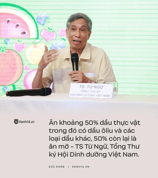 TS Từ Ngữ - Tổng Thư ký Hội Dinh dưỡng Việt Nam: Nhiều người đang hiểu lầm về vai trò của mỡ và không ăn mỡ - Ảnh 3.