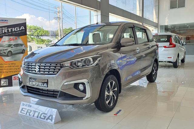 Suzuki Ertiga đại hạ giá: Chưa đến 460 triệu đồng, rẻ nhất phân khúc, tạo sức ép cho Mitsubishi Xpander - Ảnh 1.