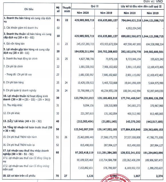 Cenland (CRE): LNST quý 2 đạt 97 tỷ đồng, giảm 12% so với cùng kỳ - Ảnh 1.