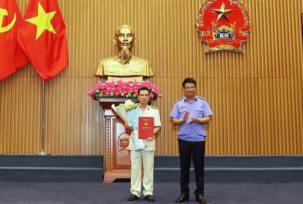 Viện kiểm soát nhân dân tối cao bổ nhiệm nhiều lãnh đạo cấp Vụ - Ảnh 1.