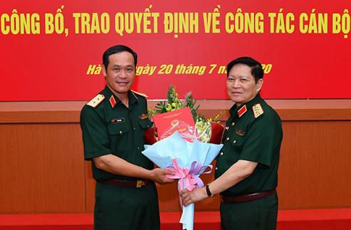 Công bố, trao quyết định của Thủ tướng bổ nhiệm lãnh đạo Bộ Quốc phòng - Ảnh 1.