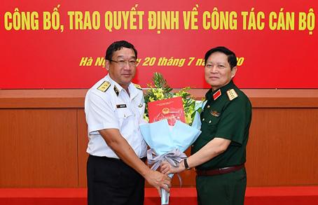 Công bố, trao quyết định của Thủ tướng bổ nhiệm lãnh đạo Bộ Quốc phòng - Ảnh 2.