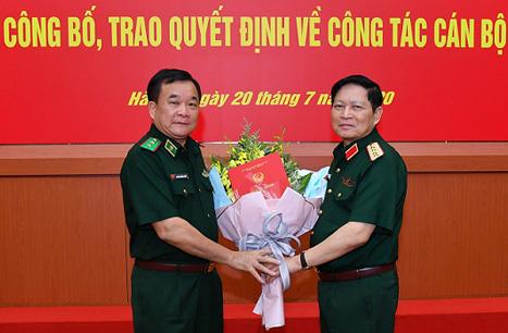 Công bố, trao quyết định của Thủ tướng bổ nhiệm lãnh đạo Bộ Quốc phòng - Ảnh 3.