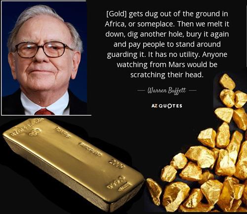 Tại sao thứ kim loại bị Warren Buffet cho là vô dụng như vàng lại có giá khi nền kinh tế biến động?  - Ảnh 1.