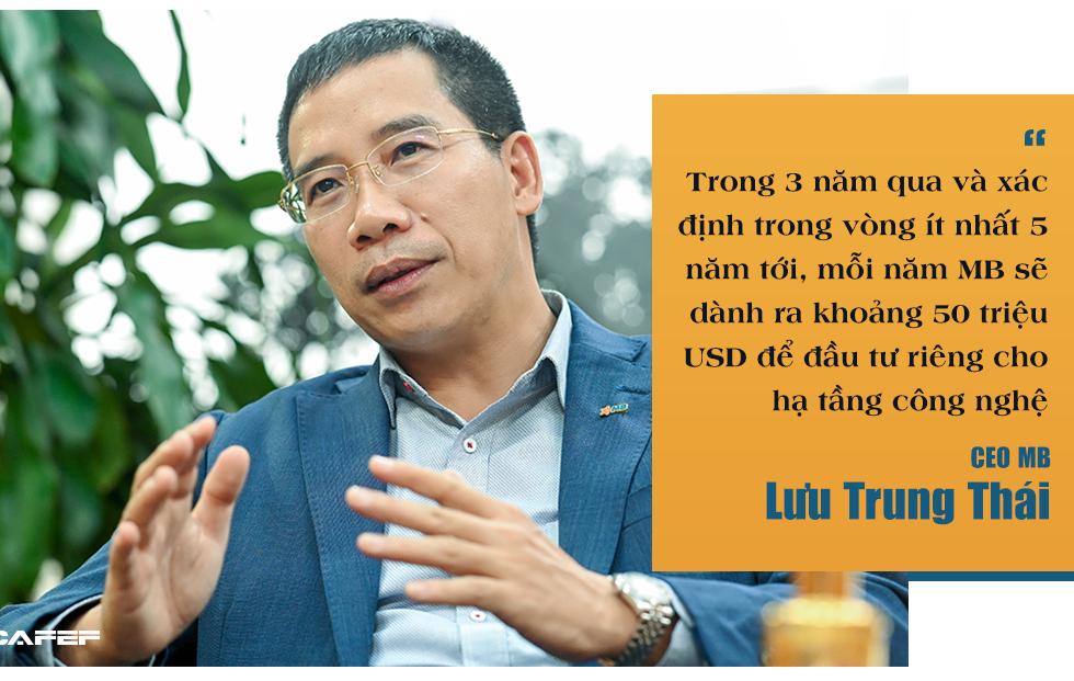 CEO MB Lưu Trung Thái: Ngân hàng to hơn không còn quan trọng, bây giờ quan trọng là ai thông minh hơn, nhanh hơn - Ảnh 7.