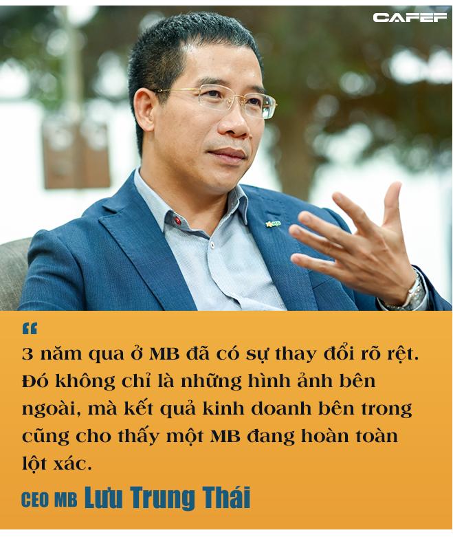 CEO MB Lưu Trung Thái: Ngân hàng to hơn không còn quan trọng, bây giờ quan trọng là ai thông minh hơn, nhanh hơn - Ảnh 3.