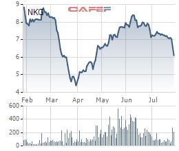 Chủ tịch HĐQT Thép Nam Kim đăng ký mua 2 triệu cổ phiếu NKG - Ảnh 1.