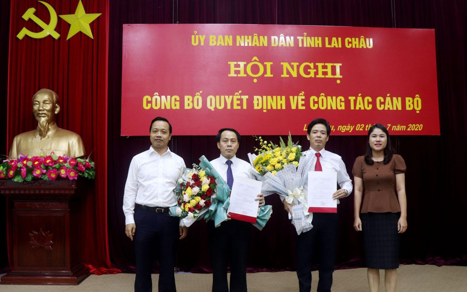 Lai Châu có 2 tân Giám đốc Sở xây dựng và Sở Tài Nguyên và Môi trường
