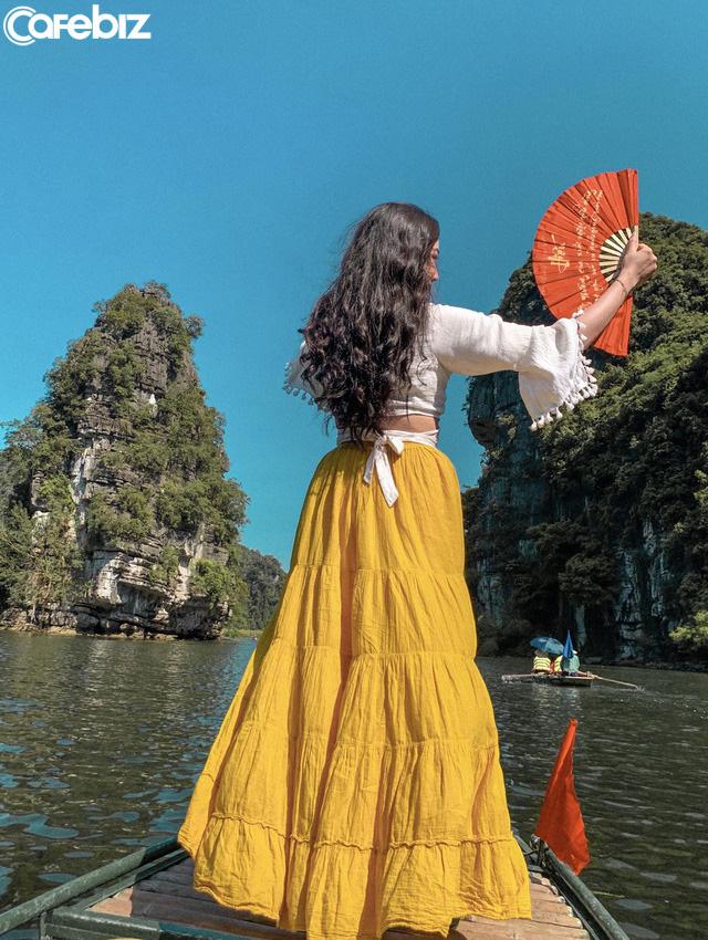 Đến Hang Múa, Ninh Bình ngập trong sắc sen hồng: Trọn vẹn 1 ngày cuối tuần rời xa thành thị xô bồ, chiêm ngưỡng vẻ đẹp thiên nhiên xanh mướt - Ảnh 13.