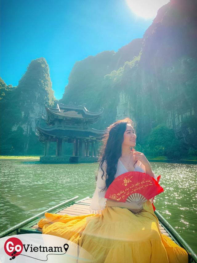 Đến Hang Múa, Ninh Bình ngập trong sắc sen hồng: Trọn vẹn 1 ngày cuối tuần rời xa thành thị xô bồ, chiêm ngưỡng vẻ đẹp thiên nhiên xanh mướt - Ảnh 9.