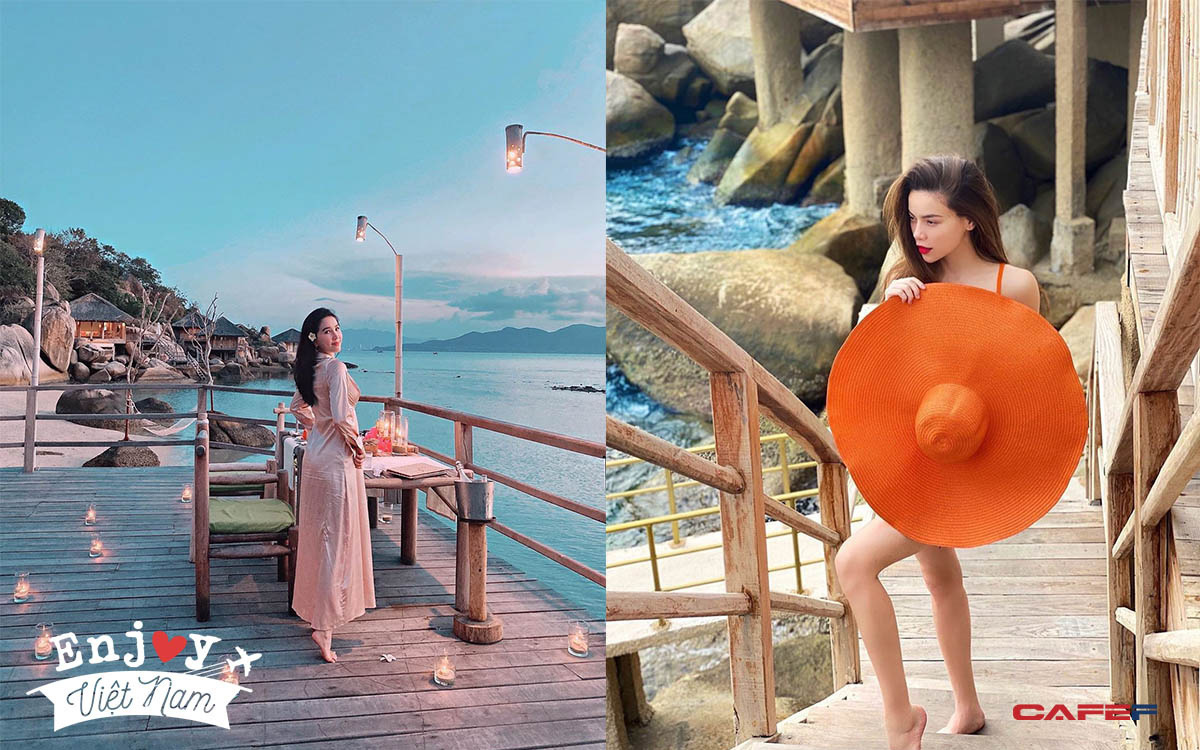"""Vịnh Ninh Vân - vùng biển được nhiều ngôi sao """"săn đón"""" nhất Việt Nam hè 2020: Thiên đường của sự bình yên tột cùng"""