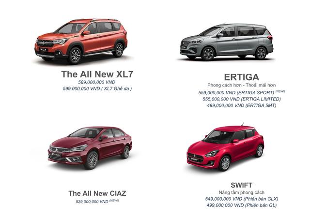 Suzuki chốt 4 sản phẩm chủ lực tại VN: XL7 thêm bản mới đấu Xpander, Ciaz giá 529 triệu đấu Vios - Ảnh 1.