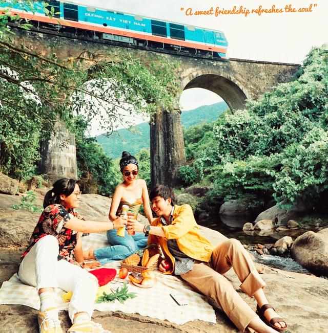 Điểm sáng Cầu Vòm Đồn Cả trong hành trình Huế - Hội An - Đà Nẵng: Thơ mộng như tranh vẽ, tha hồ picnic và tắm suối - Ảnh 16.