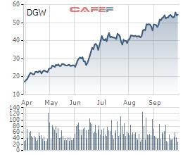 Digiworld (DGW): Thị giá liên tục tăng trưởng bất chấp Covid-19, những triển vọng kinh doanh liệu đã phản ánh hết vào giao dịch cổ phiếu? - Ảnh 1.