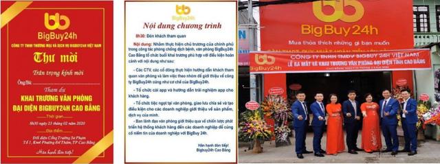 """Sàn TMĐT không tên tuổi nhưng tự xưng hàng đầu Việt Nam: Mua hàng trên BigBuy24h hoàn tiền 400%, nay app ngừng hoạt động, nộp hàng tỷ đồng có nguy cơ """"mất trắng""""  - Ảnh 2."""