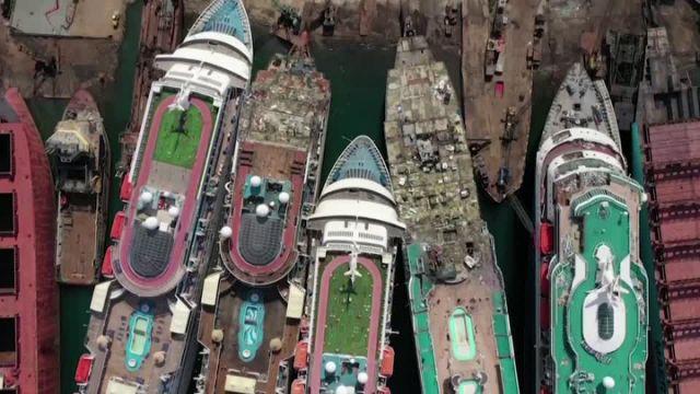 Thảm cảnh siêu tàu du lịch bị bán sắt vụn vì Covid-19, ngành công nghiệp phá dỡ tàu lên ngôi - Ảnh 2.