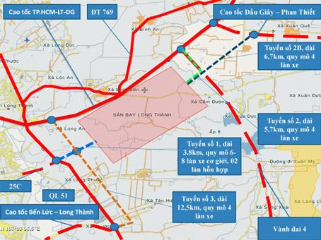 2 tuyến đường kết nối sân bay Long Thành đang được thực hiện ra sao? - Ảnh 1.