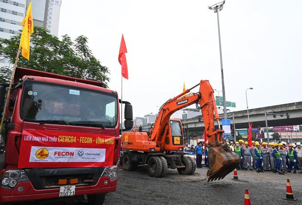 Khởi công xây dựng hầm chui Lê Văn Lương - vành đai 3, tuyến đường huyết mạch thường xuyên ùn tắc giờ tan tầm - Ảnh 3.