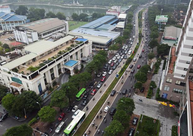 Khởi công xây dựng hầm chui Lê Văn Lương - vành đai 3, tuyến đường huyết mạch thường xuyên ùn tắc giờ tan tầm - Ảnh 9.