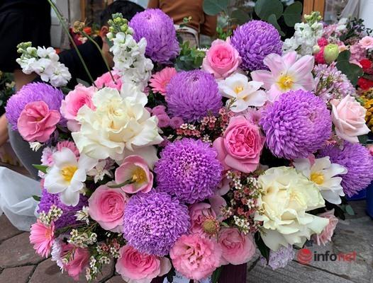 Lễ 20/10, khách chịu chơi chi hàng chục triệu đồng đặt hoa nhập khẩu - Ảnh 4.