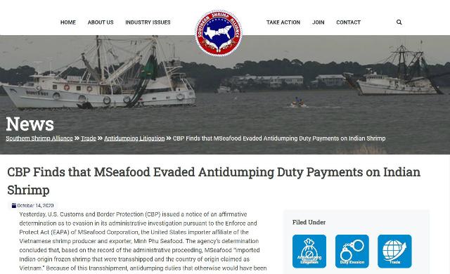 Mỹ kết luận Minh Phú sai phạm liên quan xuất khẩu tôm nguồn gốc Ấn Độ - Ảnh 1.