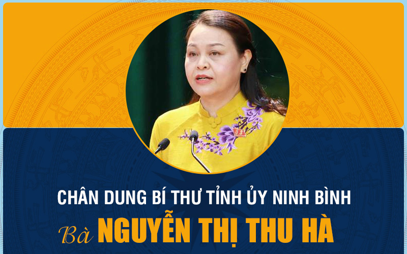 [Infographic]: Chân dung Bí thư Tỉnh uỷ Ninh Bình Nguyễn Thị Thu Hà