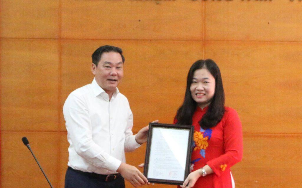 Sở Tư pháp Hà Nội có tân Phó Giám đốc
