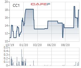 Bộ Xây dựng đưa hơn 44 triệu cổ phần CC1 ra bán đấu giá - Ảnh 1.