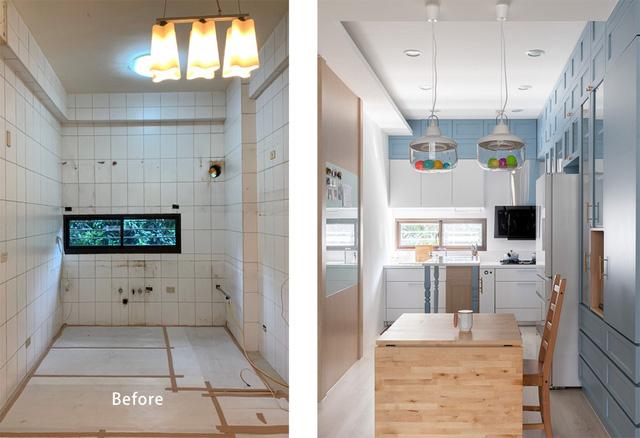Ngôi nhà 30m² được cải tạo thành không gian hạnh phúc cho vợ chồng trẻ và con gái thỏa sức vui chơi - Ảnh 2.