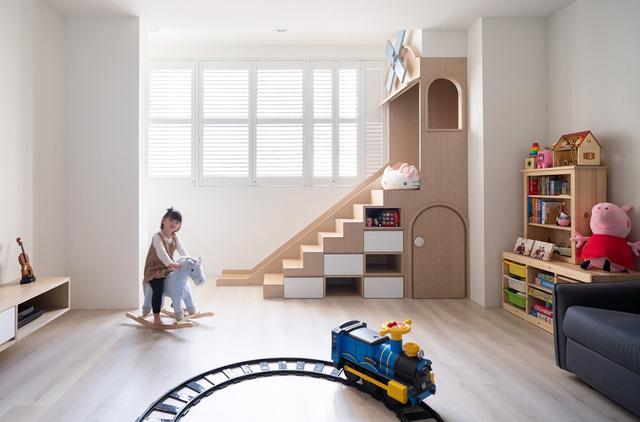 Ngôi nhà 30m² được cải tạo thành không gian hạnh phúc cho vợ chồng trẻ và con gái thỏa sức vui chơi - Ảnh 6.