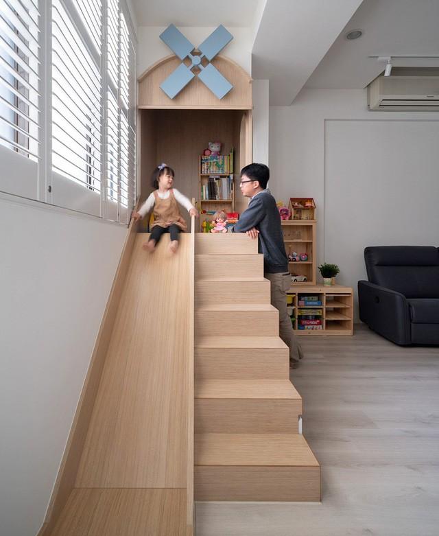 Ngôi nhà 30m² được cải tạo thành không gian hạnh phúc cho vợ chồng trẻ và con gái thỏa sức vui chơi - Ảnh 7.