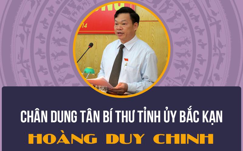 Chân dung tân Bí thư Tỉnh ủy Bắc Kạn Hoàng Duy Chinh