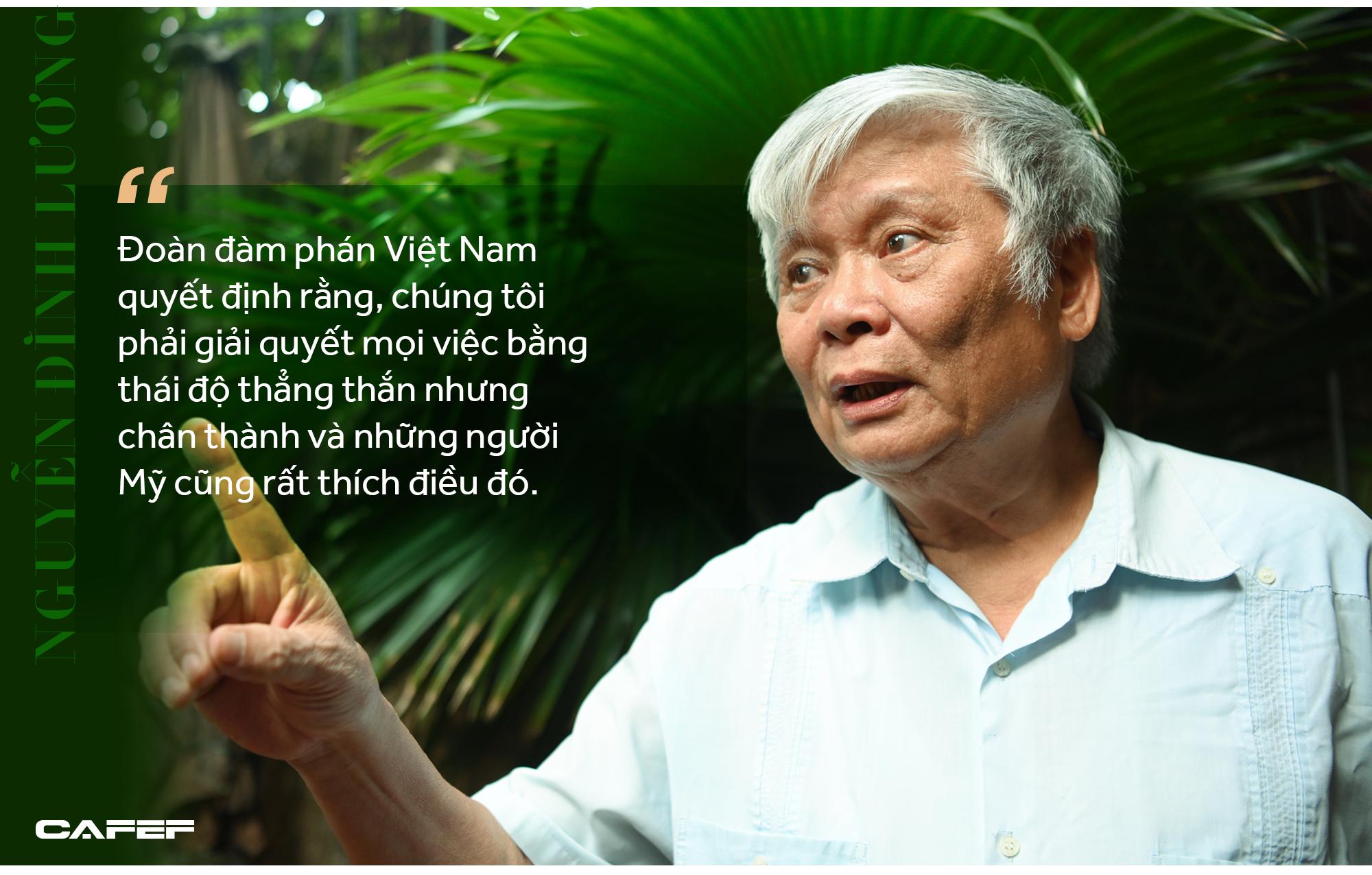 Người đàm phán Hiệp định Việt Mỹ với triết lý thợ cày và mẹt hoa quả vỉa hè khắc họa bức tranh cuộc đời - Ảnh 10.