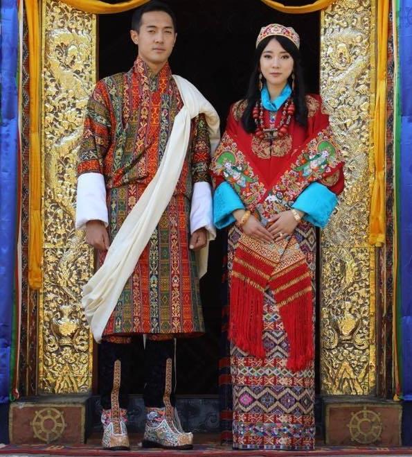 Nàng công chúa vạn người mê của Bhutan từng làm chao đảo MXH bất ngờ lên xe hoa, nhan sắc đôi tân lang tân nương gây chú ý - Ảnh 1.