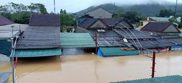 5 người chết, mất tích do mưa lũ ở Nghệ An - Ảnh 1.