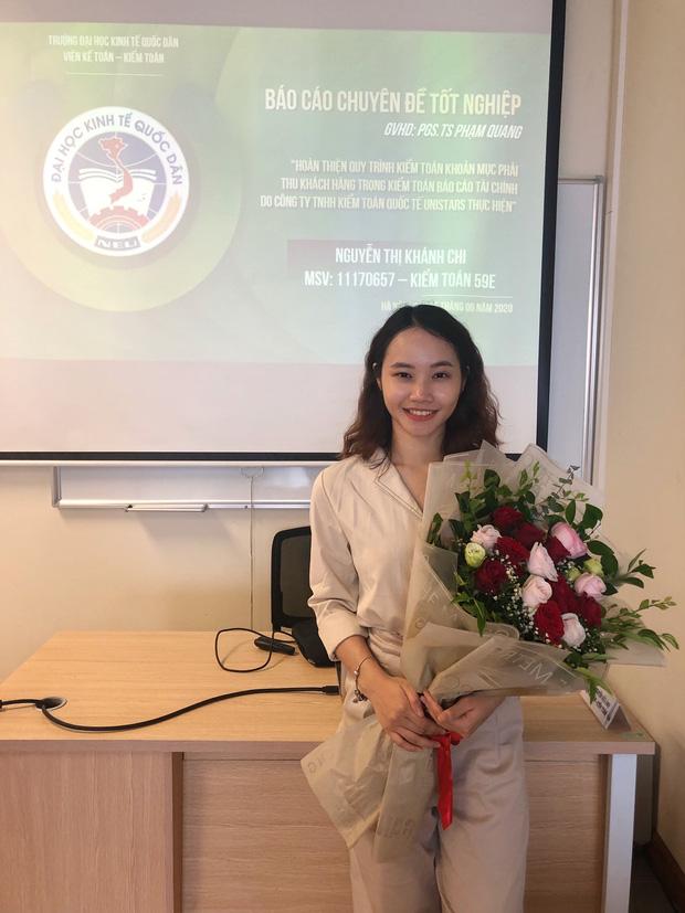 Tân cử nhân duy nhất của ĐH Kinh tế Quốc dân tốt nghiệp thần tốc sau 3 năm, vừa nhận bằng Giỏi vừa là Đảng viên - Ảnh 3.