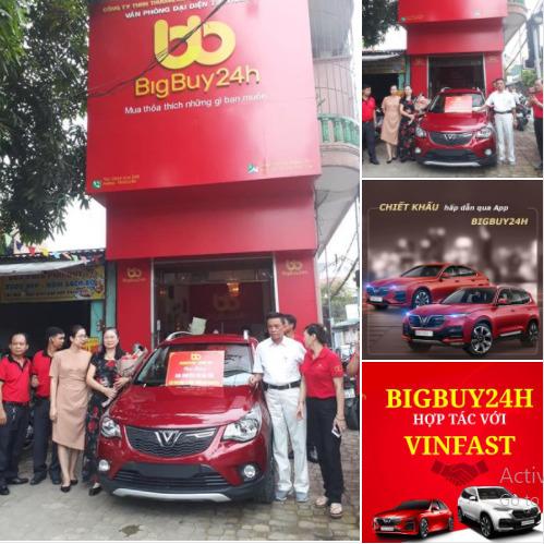 """Sàn TMĐT Bigbuy24h trước khi """"dính phốt"""": Tuyên bố liên kết với Vinfast để mua ô tô hoàn tiền, tặng ĐT bóng đá Việt Nam hàng trăm triệu đồng  - Ảnh 3."""