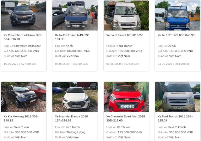 Ngân hàng phát mại hàng loạt ôtô - Ảnh 2.