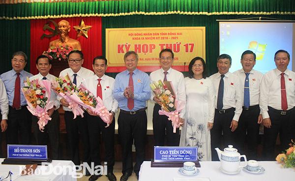 Ông Thái Bảo được bầu làm Phó Chủ tịch UBND tỉnh Đồng Nai - Ảnh 1.
