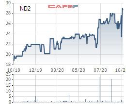 Vinaconex tính chuyển nhượng hơn 17 triệu cổ phiếu ND2, muốn thoái bớt vốn tại Nedi2 - Ảnh 1.