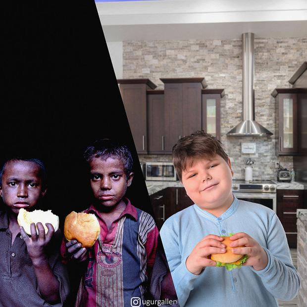 Hai thế giới: Bộ ảnh khiến người xem phải rơi nước mắt cho những đứa trẻ sống giữa đạn bom, bình yên là điều vô cùng xa xỉ - Ảnh 12.