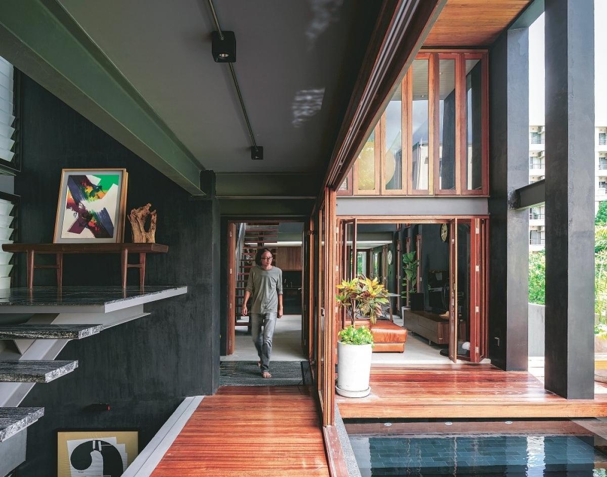 Những thiết kế lọt top 10 ngôi nhà đẹp nhất năm 2020 - Ảnh 5.