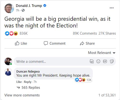 Ông Trump bất ngờ tuyên bố tin vui, thắng lớn, kết quả sốc: Ít nhất 4 bang sẽ hóa đỏ trong nay mai? - Ảnh 1.