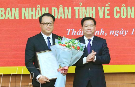 Thái Bình bổ nhiệm Trưởng Ban Nội chính, Chánh Văn phòng UBND tỉnh - Ảnh 2.