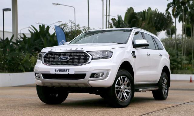 Ford Everest 2021 về Việt Nam cuối tháng 11: Đẹp hơn, nâng cấp để bám đuổi Hyundai Santa Fe và Toyota Fortuner - Ảnh 1.